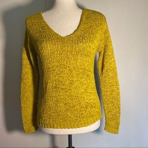 H&M knitted sweater in the color Marigold